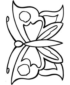printable geometric butterflies coloring pages objects early learners have fun coloring - Fun Colouring Sheets