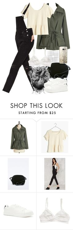 """Allison Inspired Hiking Outfit"" by veterization ❤ liked on Polyvore featuring Madewell, RES Denim, Forever 21 and Casetify"