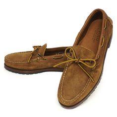 Polo Ralph Lauren KYSE Boat Shoe ポロラルフローレン モカシンシューズ レザーシューズ 革靴 USA製【$450】[035]