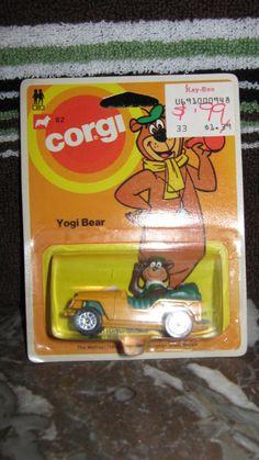 CORGI YOGI BEAR CAR Corgi Husky, Hanna Barbera, Childhood Memories, Lesbian, Cave, Bear, Toys, Vintage, Activity Toys