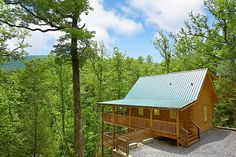 "Spend your honeymoon tucked away in the mountains at ""A Bear Abode."""