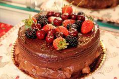 Naked cake, Bolo desconstruído