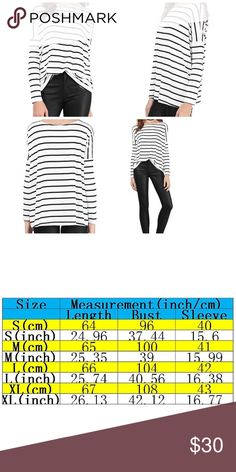 🆕Slouchy Long Sleeve Top Dress up or down! See size chart, runs small Tops Tees - Long Sleeve