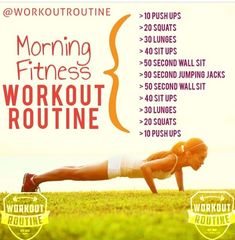 Morning Fitness Challenge