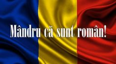 Mandru ca sunt roman! 1 Decembrie, Romania, Birthday Wishes, Congratulations, History, 23 August, Marcel, Beautiful Places, Korean