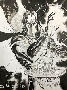Dr. Fate par Jim Lee