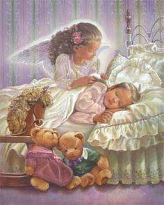 Sweet Devotion Angel by Barbara Hails