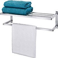 Photo On From Argos For bathroom cabinet wall The rail will overhang the radiator