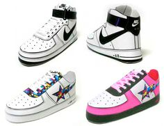 Paper Model Nike Shoes | PaperCraftCentral.