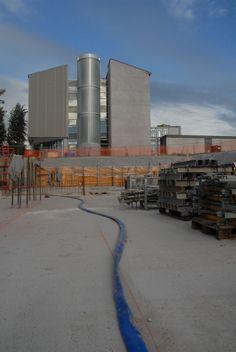 Usine à gaz à Mons #spaque #rehabilitation #remediation #fricheindustrielle #brownfields
