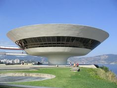 Contemporary Art Museum, Niteroi - this can't be real, right?