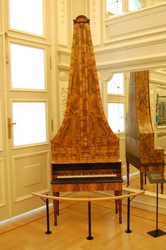 Keyboard instrument at Musee des Instruments de Musique / Musical Instrument Museum, Brussels, Belgium