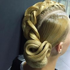 This is really awesome! #ballroomhair