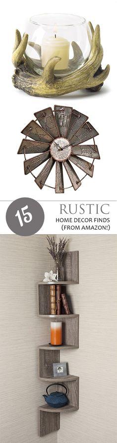 Rustic Home Decor, Cheap Decor, Inexpensive Home Decor, Farmhouse Decor Trend, Farmhouse Home Decor, Farmhouse Home Decor Ideas, Popular