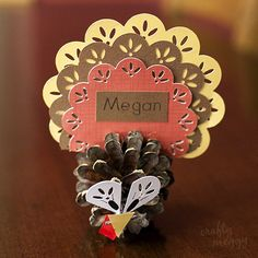 DIY Pinecone Turkey