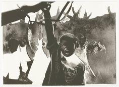 Rafael Canogar. Los revolucionarios (The Revolutionaries) from Violence (La Violencia). 1969