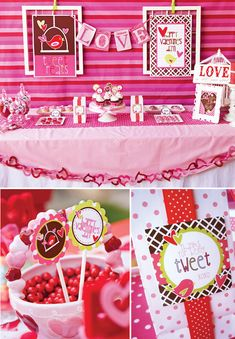I love lots, but especially the table banner of hearts!!