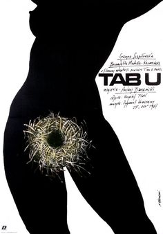 Taboo, Polish Movie Poster