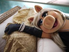 Miss Piggy is simply fabulous.
