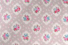 ROSETTA AQUA PVC WIPE CLEAN OILCLOTH WIPEABLE COVER TABLE CLOTH click for sizes