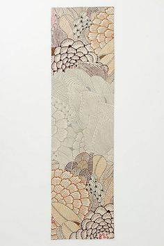 Mutabilis Rug - anthropologie.com. A runner that costs more than my house