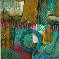 Collage art of Laura Lein-Svencner: Tack Down Tuesday's