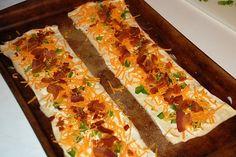 Bacon Ranch & Cheese pinwheel