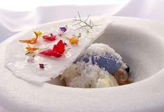 lemon, olive and yogurt #plating #presentation | Plated desserts ...