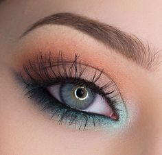 21 St Patricks Day Makeup Looks - Make up augen - Eye Makeup Cute Makeup, Gorgeous Makeup, Makeup Geek, Skin Makeup, Makeup Inspo, Eyeshadow Makeup, Makeup Inspiration, Makeup Tips, Makeup Ideas