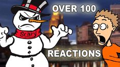 Scary Snowman Prank – Over 100 reactions! **Try Not To Laugh** Funny Pranks, Scary Pranks, Evil Twin, Try Not To Laugh, Walking By, Mickey Mouse, The 100, Mario