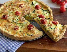 Zucchini-Tomaten-Quiche