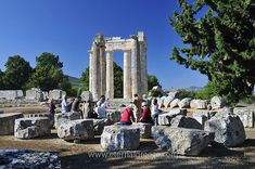 Famed for its association with the First Labour of Hercules, its heady red wine, its serene natural beauty and the magnificent archaeological site, museum and ancient stadium, Nemea is a must-visit destination!  For more information, please visit www.eternalgreece.com/ancient-nemea/      #ancientnemea #Greece #Peloponnese #travel #holiday #holidays #vacation #vacations #archaeology #mythology