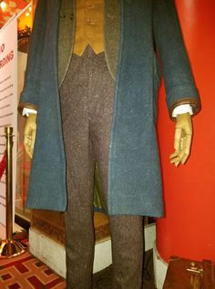 pants vest costume cosplay newt scamander display coat fantastic beasts