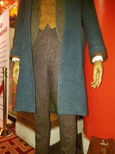 pants vest costume cosplay newt scamander display coat fantastic beasts