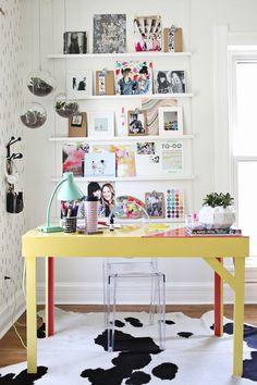 Epoxy desk