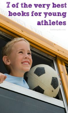 Must-read books for athletic kids and sports loving kids!