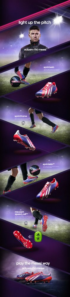 Adidas Team Messi by Robert Leehttp://www.adidas.com/us/apps/MessiFW13/ Amazing motion graphics