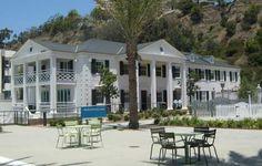 Marion Davies guest house at Santa Monica beach - CA
