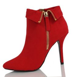 Lipstick Red Faux Suede Gold Zipper Folded Cuff High Heel Ankle Bootie Deli 55 Delicious,http://www.amazon.com/dp/B00GK5V0K8/ref=cm_sw_r_pi_dp_E8TLsb1G20RSWGZ2