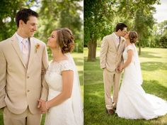 Classy Country Style wedding photography || Emily Davidson Photography > Summer wedding || Bride and Groom photography