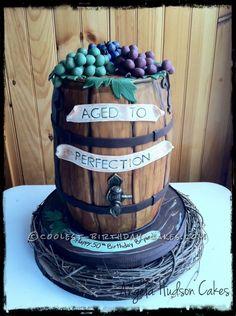 Wine And Birthday Cake . Wine And Birthday Cake Coolest Wine Barrel Cake Birthday Cakes For Men, Birthday Cake Wine, Husband Birthday Parties, Birthday Cake For Husband, Birthday Cake With Candles, 50th Birthday, Husband Cake, Birthday Brunch, Barrel Cake