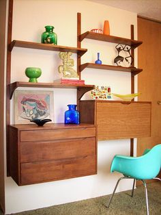 Need this stat- Danish-ish wall unit by sandiv999, via Flickr