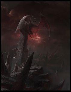 Demon Tower by TFsean.deviantart.com on @deviantART