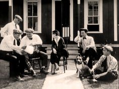 SilentComedians.com :: View topic - Rare on-set Comique pictures. Al, Roscoe, Buster, Alice, Luke.