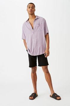 91 Short Sleeve Shirt | Men's Fashion | Cotton On