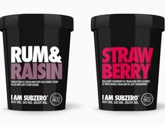 organic ice cream packaging - Google Search