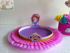 centro de mesa cumpleaños infantil - Buscar con Google Birthday Party Decorations, Party Themes, Birthday Parties, Princess Sofia Party, Princesa Sophia, Kid Desserts, Sofia The First, Ideas Para Fiestas, Barbie