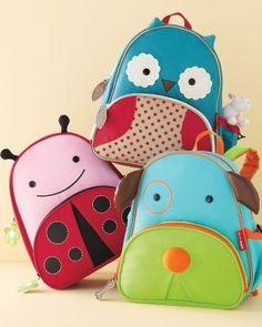 Animal Pack by Skip Hop at Garnet Hill Kids Preschool Backpack, Toddler School, Cute Wallets, Wishes For Baby, Kids Corner, Fabric Bags, Kid Styles, Kids Bags, Baby Love