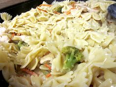 delightful country cookin': creamy lemon-pepper bow tie pasta