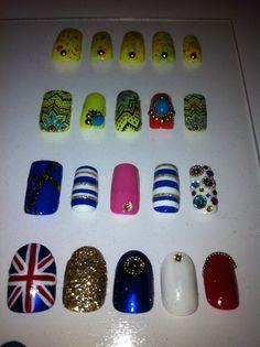 british nails on the bottom